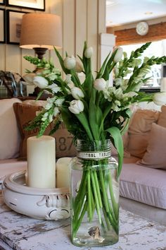 vase, flowers - so pretty