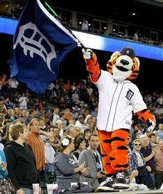 detroit tiger images | Detroit Tigers mascot