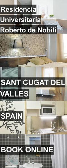 Hotel Residencia Universitaria Roberto de Nobili in Sant Cugat del Valles, Spain. For more information, photos, reviews and best prices please follow the link. #Spain #SantCugatdelValles #travel #vacation #hotel