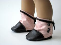 """Next Up: Abigail Rose Boot Pattern for 18"""" American Girl Dolls :) #Victorian #steampunk"""