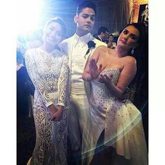 Star Magic Ball 2015 with DJ, Kath and Angelica