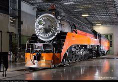 RailPictures.Net Photo: SP 4449 Southern Pacific Railroad Steam 4-8-4 at Portland, Oregon by Andrew Rapacz