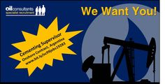 Cementing Supervisor required for onshore contract job in Argentina