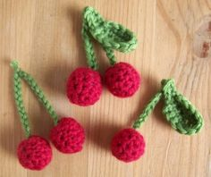 Cerises - 2012  #tuto #pattern #crochet #food