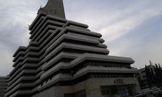 Iskan Bank complex, Amman, Jordan. previously Royal Jordanian Airlines headquarters