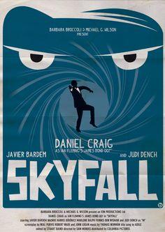 Skyfall - movie poster