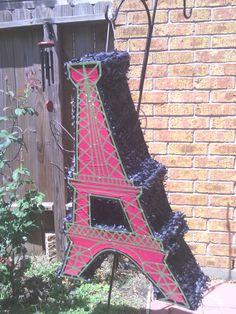 eiffel tower pinata  | Custom Pinatas | Pinatas Houston. Custom Pinatas