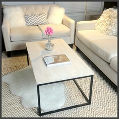 Dollhouse: My New Coffee Table!