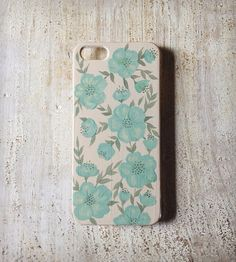 Mint floral iPhone 5 Case | iPhone iPhone 5 | A Fancy Or A Feeling | Scoutmob Shoppe | Product Detail