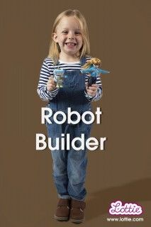 Allie Weber and her Robot are mentioned in this (Women's Views on News) article. Allie and her robot were the toy's companies' inspiration for the Robot Girl Lottie Doll! Robot Builder, Build A Robot, Robot Girl, Stem For Kids, Inventions, Kids Toys, Childhood, The Incredibles, Dolls