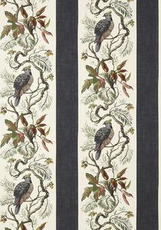 WILLIAMSON, Black, T10858, Collection Heritage from Thibaut View Wallpaper, Brown Wallpaper, Luxury Wallpaper, Designer Wallpaper, Wallpaper Designs, Wallpaper Ideas, Construction Wallpaper, Fabric Patterns, Paint Colors