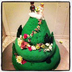 Wedding cake @ castle Obermayerhofen :) Castle Wedding Cake, Wedding Cakes, Weddings, Desserts, Food, Wedding Gown Cakes, Tailgate Desserts, Deserts, Wedding