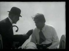 """Watched this the other night and now my mind is blown because I just read that Man Ray and Marcel Duchamp are in it! - René Clair, """"Entr'acte"""" (1924) - YouTube"""