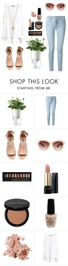 """""""Good Vibes"""" by maddiegbilly ❤ liked on Polyvore featuring Eva Solo, Frame Denim, H&M, Eloquii, Forever 21, Lancôme, Bobbi Brown Cosmetics, OPI and Pamela Love"""