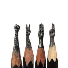 Casos Acasos e Livros: Arte na ponta do lápis