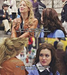 Gossip girl... Serena and Blair, Blair and Serena <3