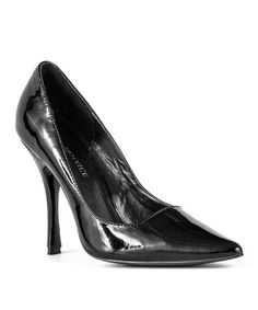 Take a look at the Modern Vice Black Mariah Leather Pump on #zulily today!