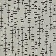 Ditto - Cinder - Walnut Wallpaper