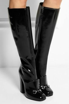 FASHION BOOTS High Heel Boots, Knee Boots, Heeled Boots, Bootie Boots, High Heels, Gladiator Boots, Gucci Horsebit, Punk, Gucci Black