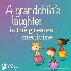 A grandchild's laughter