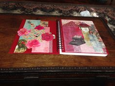 I created a journal based on how I see Maud's aesthetic sensibilities.