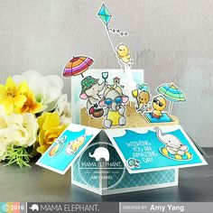mama elephant | design blog: Summer Splash with Amy