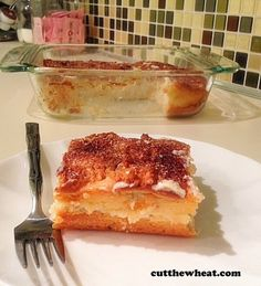 Crescent roll-inspired,  Cinnamon Cream Cheese Squares - Low Carb, Gluten free, Sugar Free YUM!!