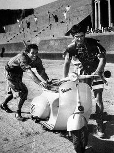 Ben-Hur. Knowing this happened behind the scenes makes me love this movie even more.