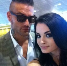 Corey Graves and Paige.