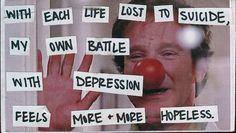 PostSecret: Robin Williams, depression, & suicide
