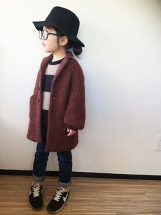 saco│FITH Looks de manteau - Mode Fille 2019 Little Girl Fashion, Toddler Fashion, Fashion Kids, Look Fashion, Trendy Fashion, Amusement Enfants, Hipster Kid, Outfits Niños, Fashion Outfits
