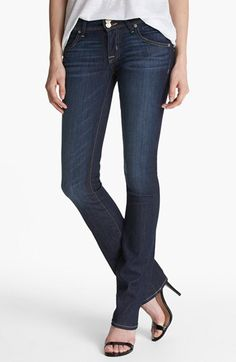 Hudson Jeans Hudson Jeans 'Beth' Baby Bootcut Jeans (Stella) available at #Nordstrom