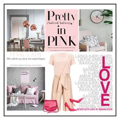 """""""Pale but pink"""" by noconfessions ❤ liked on Polyvore featuring MSGM, Miss Selfridge, L.K.Bennett, Rebecca Minkoff, palepink and PinkOnPink"""