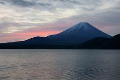 Morning glow (Mt.Fuji)