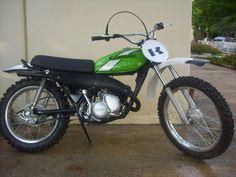 1973-78 Kawasaki KD125, restored