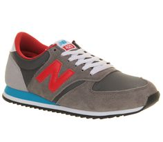 new balance grijs rood