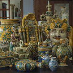 Caltagirone - Sicilian ceramics