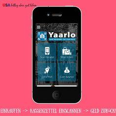 Schmeiße deine Kassenzettel nicht weg, du bekommst Geld/Gift Cards für das einscannen. Yaarlo ist ein kostenloses App mit dem du in den USA einfach Geld zurück bekommst. Lese hier wie (auf Deutsch) und finde mehr solche Apps.