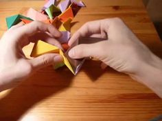 Origami lesser stellated dodecahedron by Meenakshi Mukhopadh