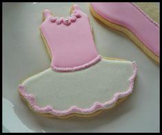 tutu sugar cookie