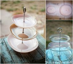 Food Bridal Shower, serving tower. #bridalshower Mariahealey.com http://www.dandpcelebrations.com