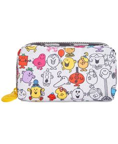 LeSportsac Mr. Men & Little Miss Collection Rectangular Cosmetic Case