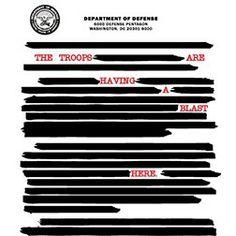 Censored Document T-shirt from headlineshirts.net