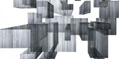 From Lines to Volumes: Architectural Drawings by Kristin Arestava...