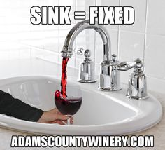 It took some creative plumbing, but we finally fixed our sink!