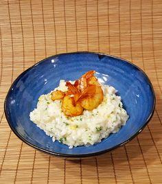 Sate Roasted Shrimp & Parmesan Risotto