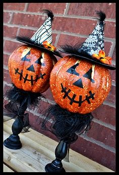 pumpkin holders