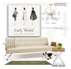 """""""Illustrations"""" by rosie305 ❤ liked on Polyvore featuring interior, interiors, interior design, home, home decor, interior decorating, decor and dotandbo"""