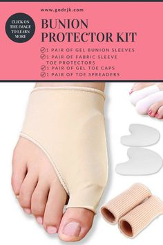 66018590fc2 BunionPal – Bunion Protector Kit. Toe SpreaderBunion RemediesGel ...