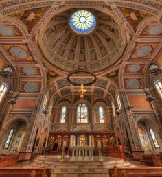 The Cathedral of the Blessed Sacramento -Such a beautiful place